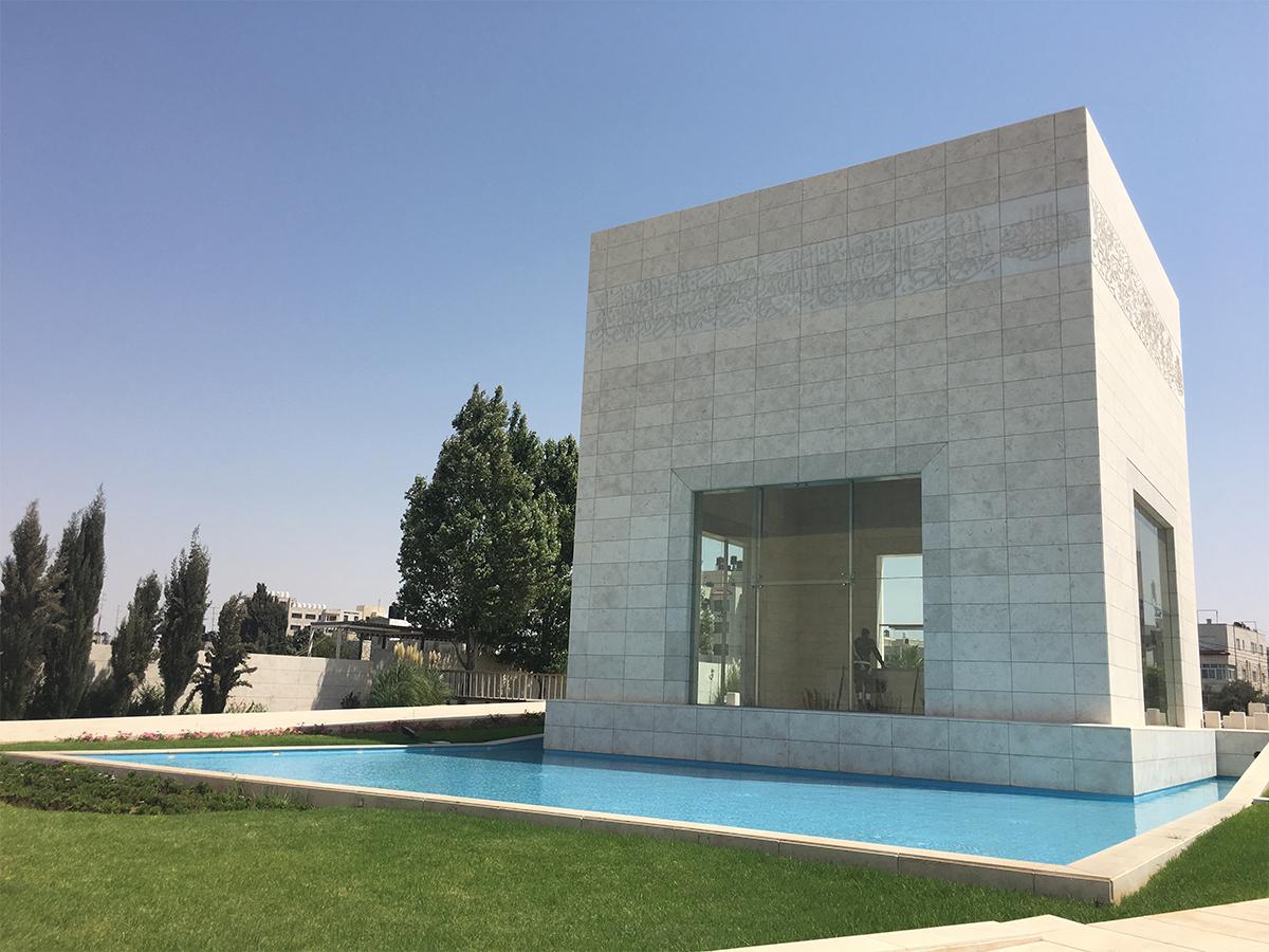 Yasser Arafat Mausoleum, Ramallah (author: 2016)