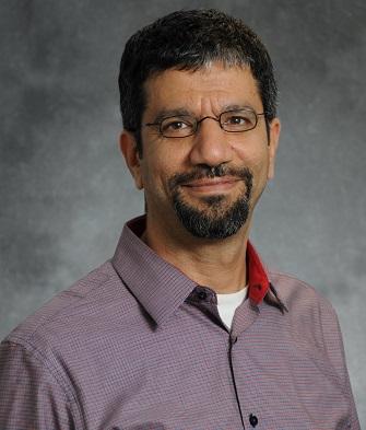 Professor Walid Saleh against plain grey background