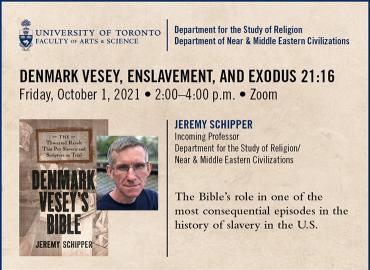 Jeremy Schipper Talk event poster