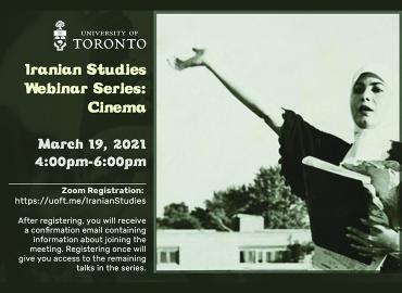 Poster of Iranian Studies Webinar-March 19